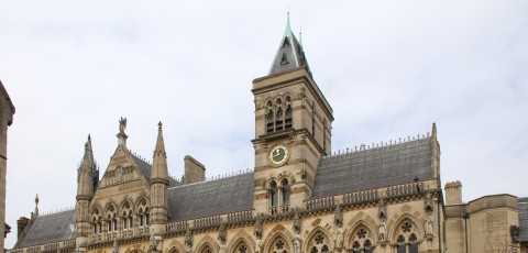 an image of the Guildhall in Northampton