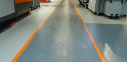 Chess Plastics Droitwich - Epoxy Floor