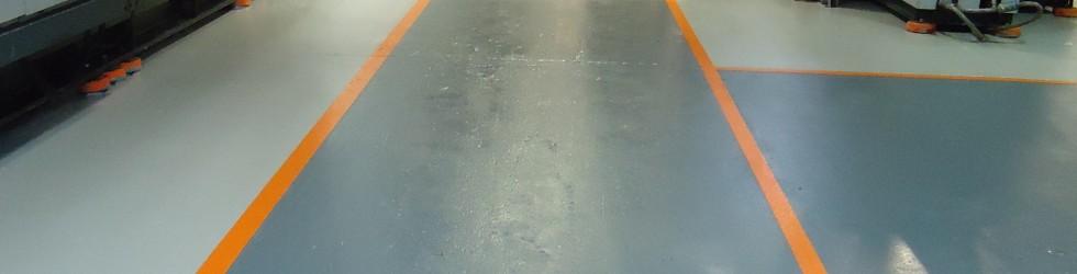 Chess Plastics Droitwich - Epoxy Floor