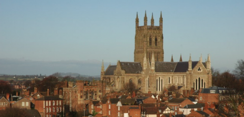 an image of a church in Worcester