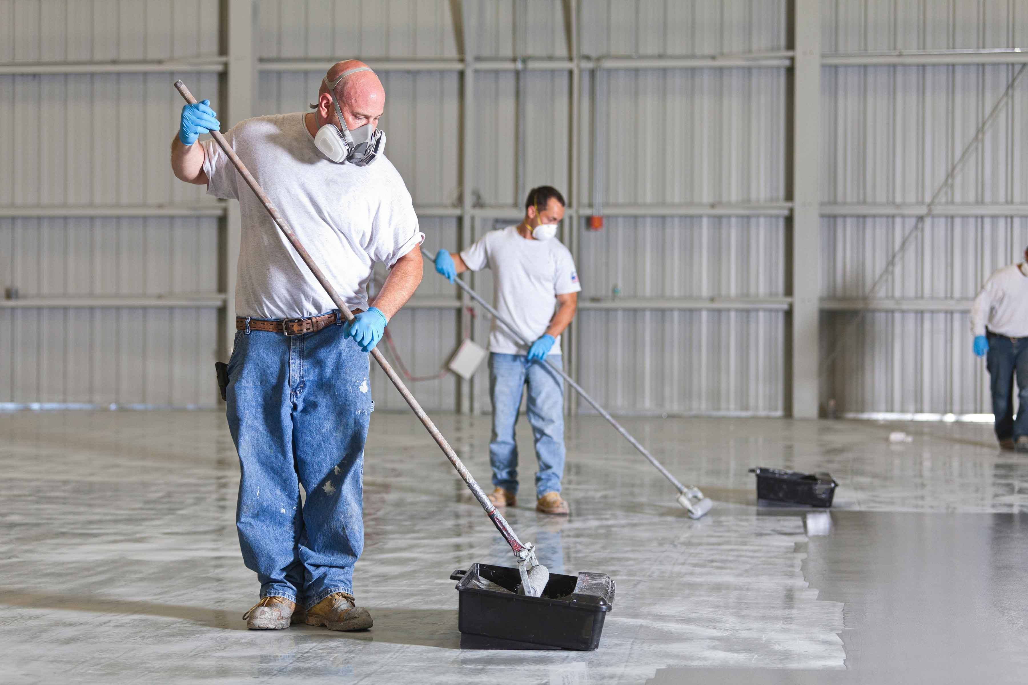 Epoxy Flooring Shirley Industrial Painters