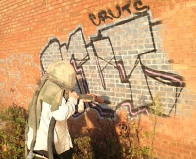 Tyseley Industrial Park Graffiti Removal