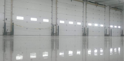 an image of epoxy flooring in a garage