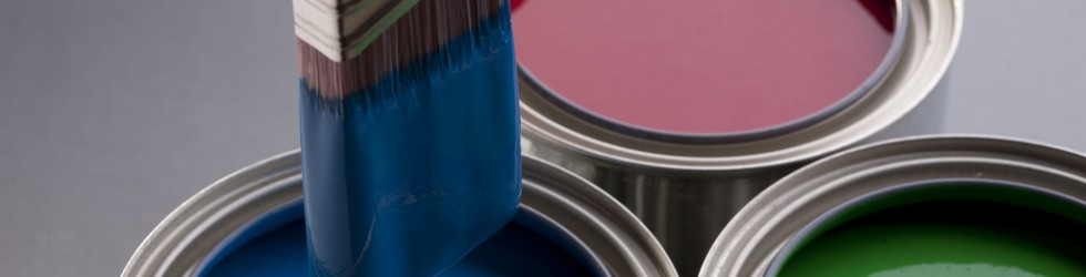 an image of different types of industrial paint